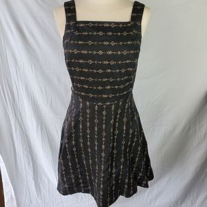 Ecote Urban Outfitters Size 4 Black Skayer Dress